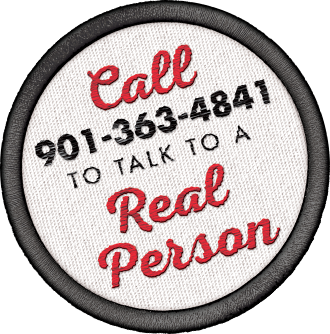 Call 901-363-4841 to talk to a real person